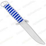 "Нож ""Чекист"". Рукоять акрил. Синий"