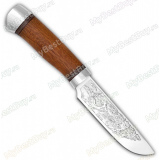 """Нож """"Легенда 2"""". Рукоять орех. Алюминий"""