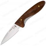 """Нож складной """"Грибник"""". Рукоять орех"""