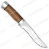 """Нож """"Н16"""". Рукоять орех. Алюминий"""