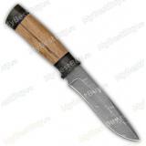 "Нож ""Н24"". Рукоять орех. Дамаск"