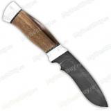 """Нож """"Н31А"""". Рукоять орех. Алюминий. Дамаск"""