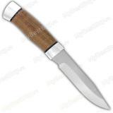 """Нож """"Н33"""". Рукоять орех. Алюминий"""