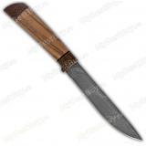 "Нож ""Н57"". Рукоять орех. Дамаск"