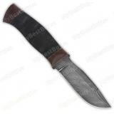 "Нож ""Н59"". Рукоять микропора. Дамаск"