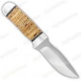 """Нож """"Н59"""". Рукоять береста. Алюминий"""